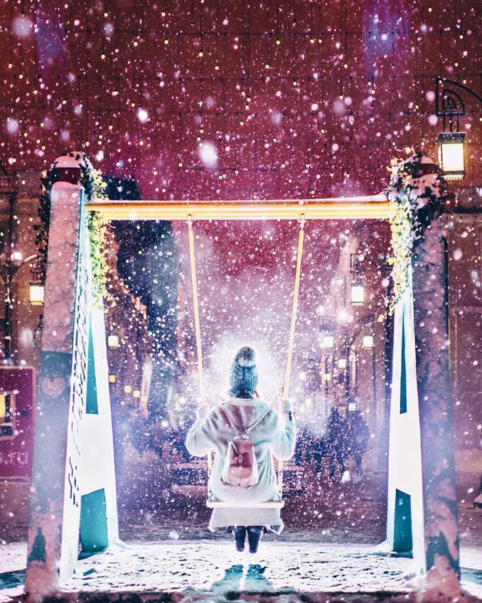 Η χειμωνιάτικη Μόσχα μοιάζει βγαλμένη από παραμύθι (18)