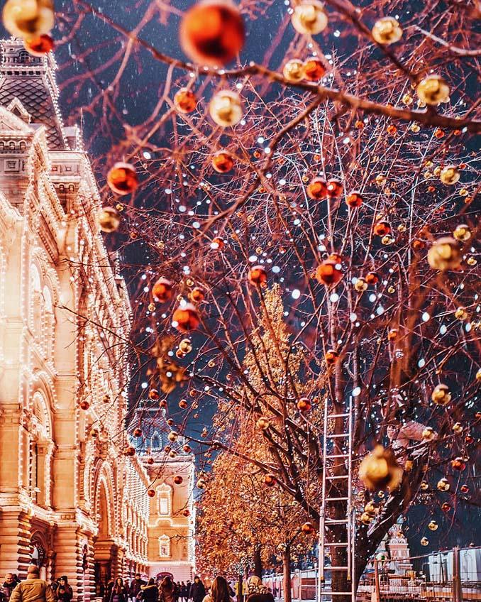 Η χειμωνιάτικη Μόσχα μοιάζει βγαλμένη από παραμύθι (19)