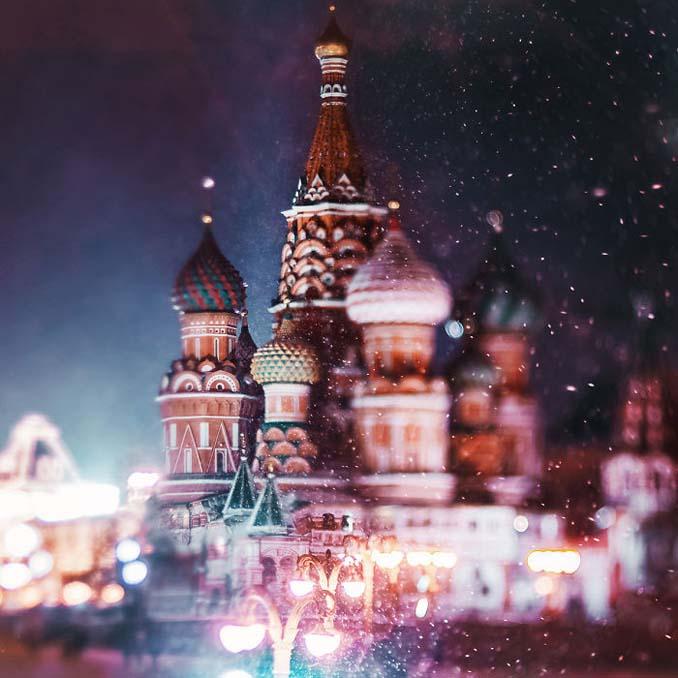 Η χειμωνιάτικη Μόσχα μοιάζει βγαλμένη από παραμύθι (20)