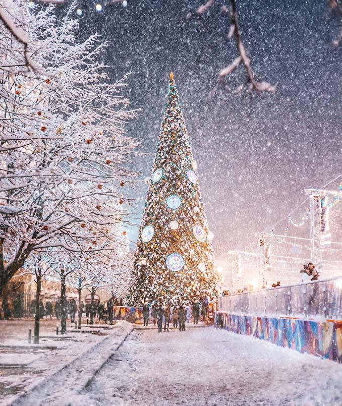 Η χειμωνιάτικη Μόσχα μοιάζει βγαλμένη από παραμύθι (22)