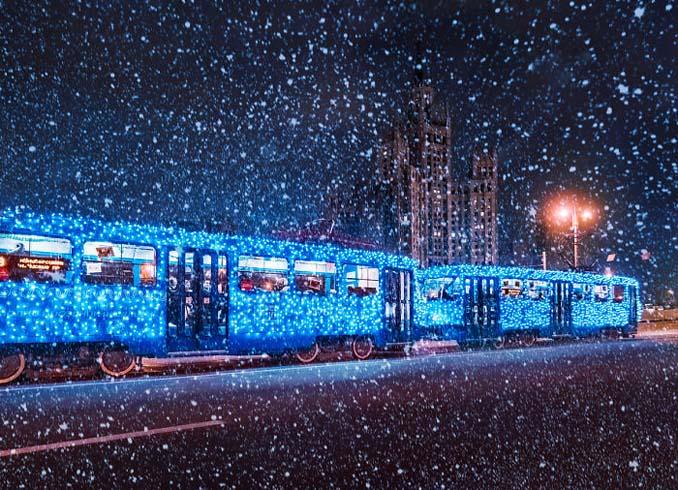 Η χειμωνιάτικη Μόσχα μοιάζει βγαλμένη από παραμύθι (26)