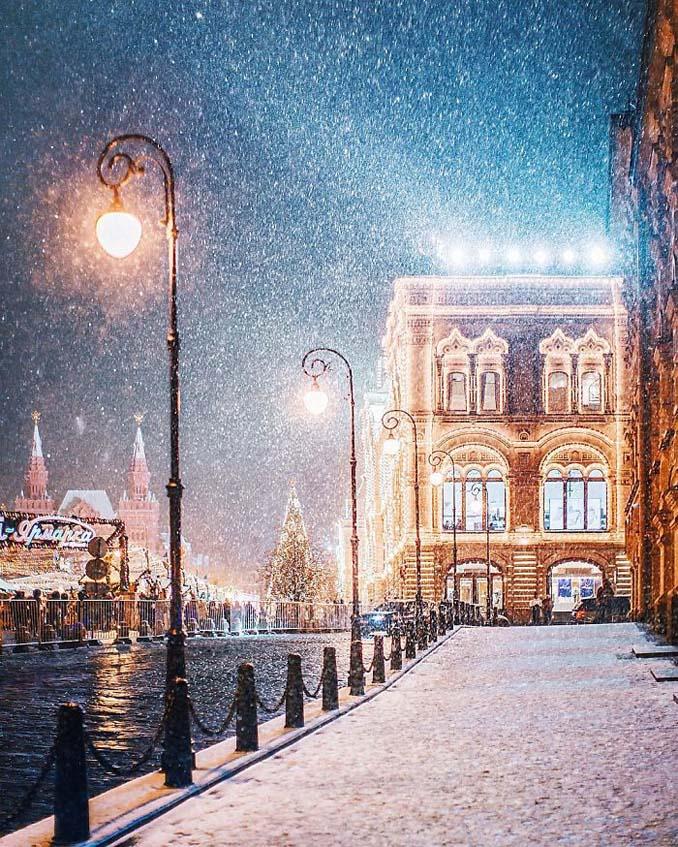 Η χειμωνιάτικη Μόσχα μοιάζει βγαλμένη από παραμύθι (29)