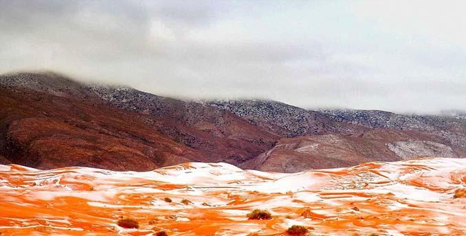 Χιόνισε στη Σαχάρα (1)