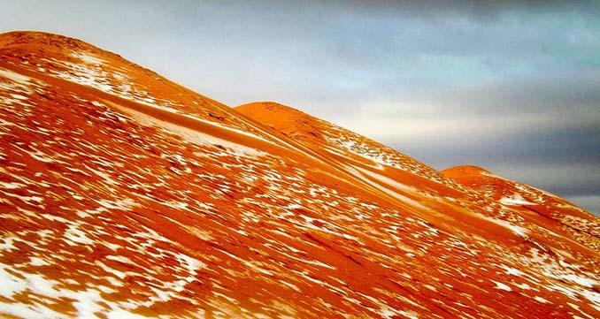 Χιόνισε στη Σαχάρα (3)