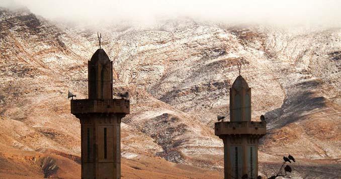 Χιόνισε στη Σαχάρα (4)