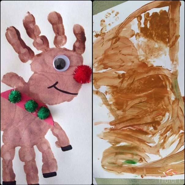 Χριστουγεννιάτικες δημιουργίες... σκέτη αποτυχία (4)