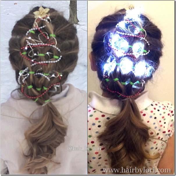 Χτενίσματα για ανεπανάληπτες χριστουγεννιάτικες εμφανίσεις (1)