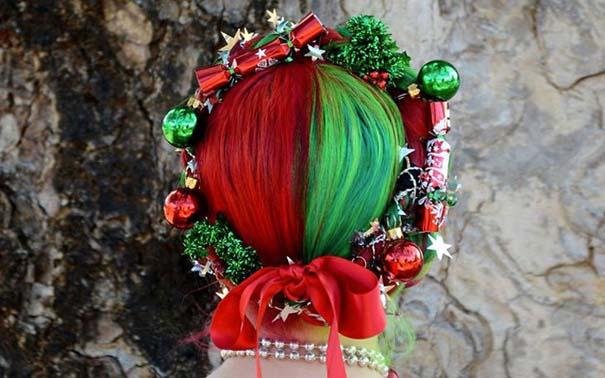 Χτενίσματα για ανεπανάληπτες χριστουγεννιάτικες εμφανίσεις (2)