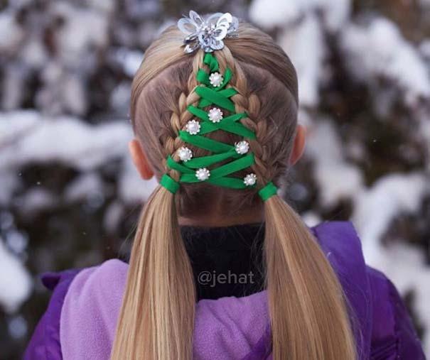 Χτενίσματα για ανεπανάληπτες χριστουγεννιάτικες εμφανίσεις (3)