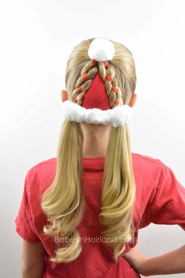 Χτενίσματα για ανεπανάληπτες χριστουγεννιάτικες εμφανίσεις (12)