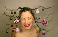 Χτενίσματα για ανεπανάληπτες χριστουγεννιάτικες εμφανίσεις (14)