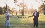 Ζευγάρι περίμενε 70 χρόνια για να κάνει τη γαμήλια φωτογράφηση του (1)