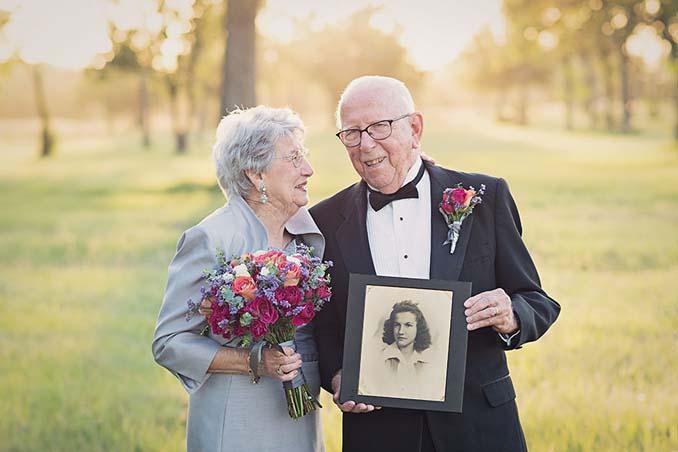 Ζευγάρι περίμενε 70 χρόνια για να κάνει τη γαμήλια φωτογράφηση του (7)