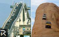 10 δρόμοι που είναι πιο τρομακτικοί από Roller-coaster