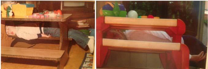Αδέρφια κάνουν αναπαράσταση των λιπόθυμων παιδικών φωτογραφιών τους (1)