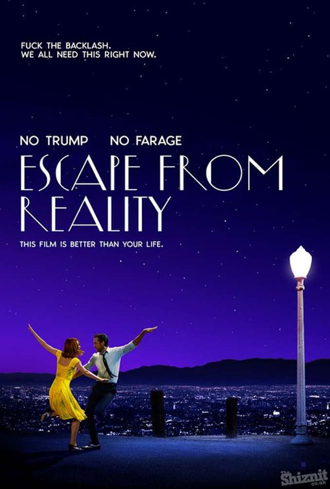 Αν τα posters των υποψηφίων για Όσκαρ ταινιών του 2017 είχαν ειλικρίνεια (1)