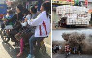 Απίστευτα σκηνικά από τους δρόμους της Κίνας