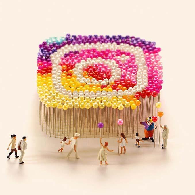 Οι διασκεδαστικές μινιατούρες ενός Ιάπωνα καλλιτέχνη (2)