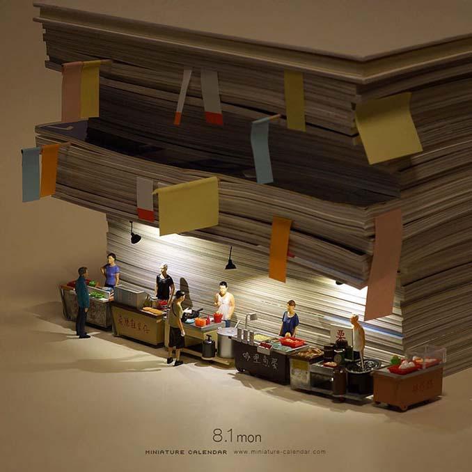 Οι διασκεδαστικές μινιατούρες ενός Ιάπωνα καλλιτέχνη (3)