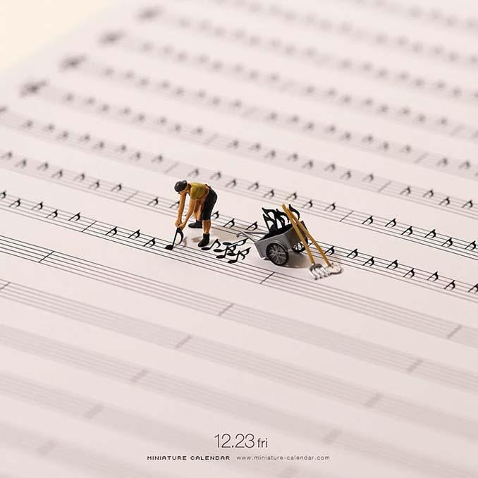 Οι διασκεδαστικές μινιατούρες ενός Ιάπωνα καλλιτέχνη (1)