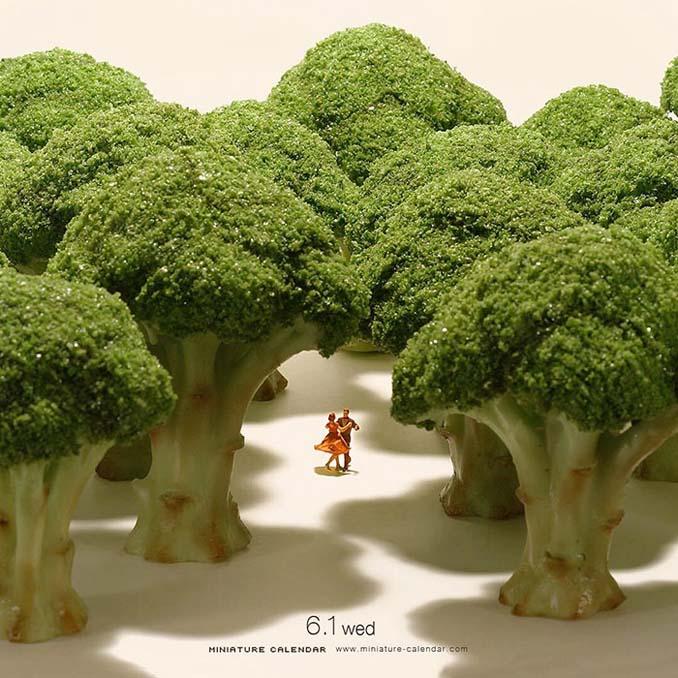 Οι διασκεδαστικές μινιατούρες ενός Ιάπωνα καλλιτέχνη (16)