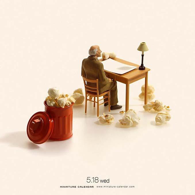 Οι διασκεδαστικές μινιατούρες ενός Ιάπωνα καλλιτέχνη (17)