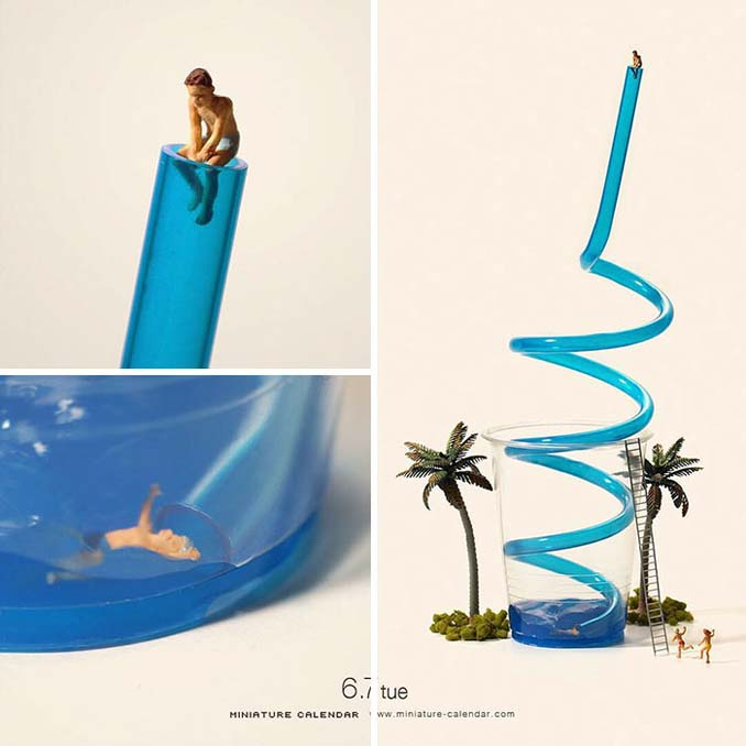 Οι διασκεδαστικές μινιατούρες ενός Ιάπωνα καλλιτέχνη (18)