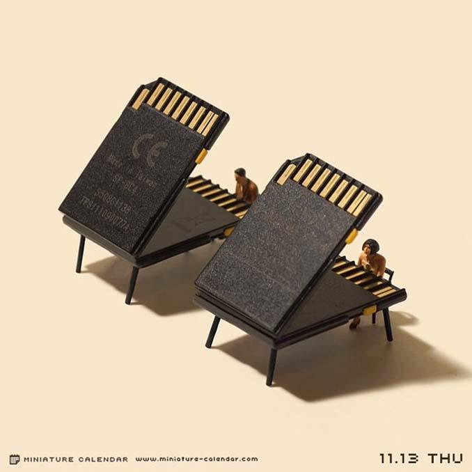 Οι διασκεδαστικές μινιατούρες ενός Ιάπωνα καλλιτέχνη (28)