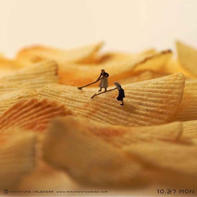 Οι διασκεδαστικές μινιατούρες ενός Ιάπωνα καλλιτέχνη (30)