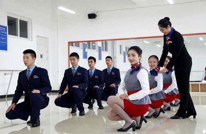 Εκπαίδευση αεροσυνοδών στην Κίνα (4)