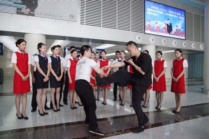 Εκπαίδευση αεροσυνοδών στην Κίνα (5)