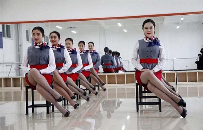 Εκπαίδευση αεροσυνοδών στην Κίνα (9)
