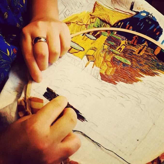 Εντυπωσιακά έργα τέχνης με βελόνα και κλωστή (9)