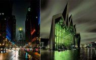 Κτίρια με όψη που τρομάζει