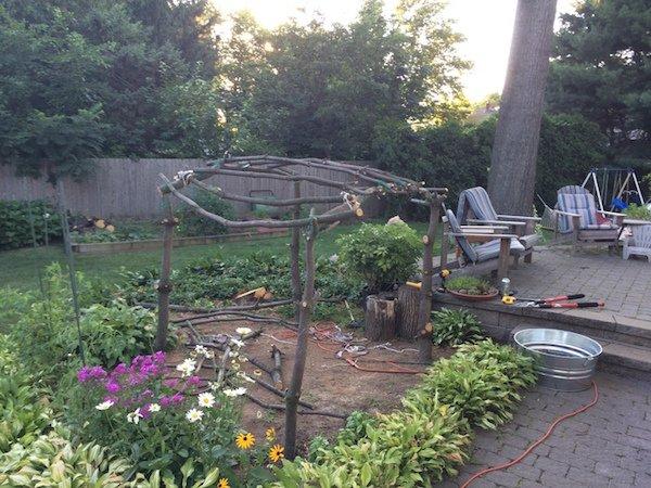 Δημιουργικός μπαμπάς μετέτρεψε ένα άρρωστο δέντρο σε παραμυθένιο κήπο για την κόρη του (7)