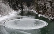 Μυστηριώδης κύκλος από πάγο