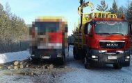 Οδηγός φορτηγού γλίτωσε από σκηνικό που θυμίζει την ταινία Final Destination (1)