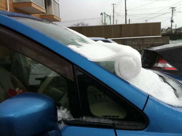 Όταν ο πάγος δημιουργεί απίστευτη τέχνη πάνω σε αυτοκίνητα (17)