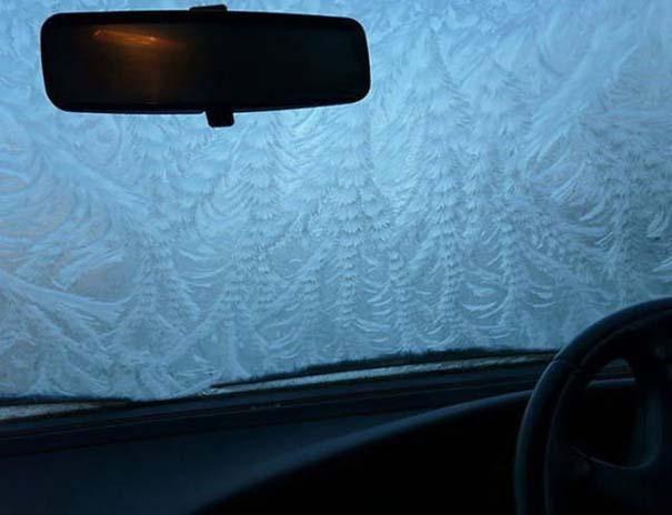 Όταν ο πάγος δημιουργεί απίστευτη τέχνη πάνω σε αυτοκίνητα (22)