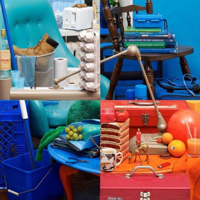 Συγκεκριμένη τοποθέτηση αντικειμένων τα κάνει να μοιάζουν τέσσερις διαφορετικές εικόνες | Φωτογραφία της ημέρας