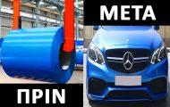 Πως κατασκευάζεται μια Mercedes-Benz C-Class