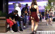 Κοινωνικό πείραμα: Πώς θα αντιδρούσατε αν μία γυναίκα κυκλοφορούσε με σηκωμένη φούστα;