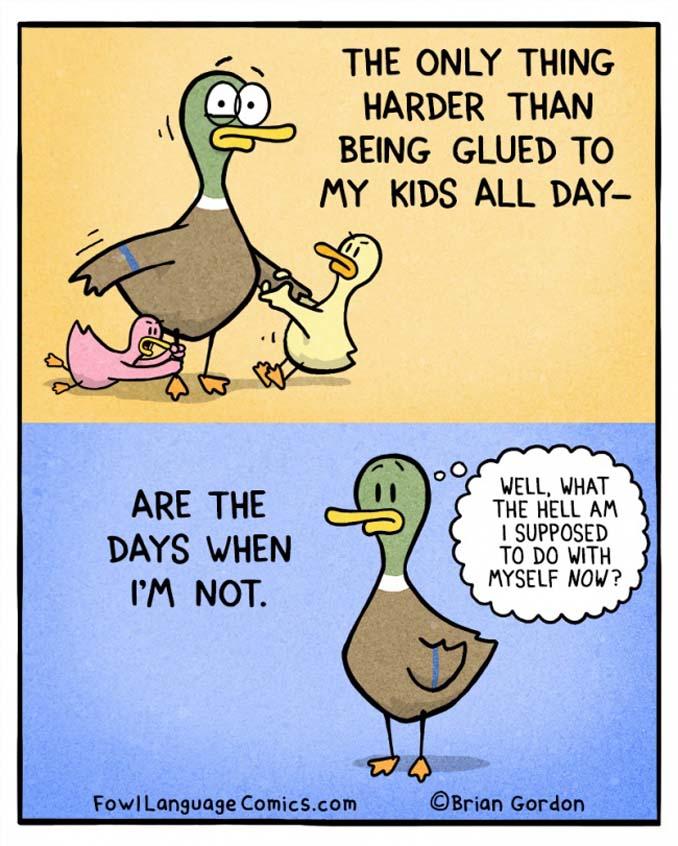 Σκίτσα με αλήθειες που κάθε γονιός θα καταλάβει (4)