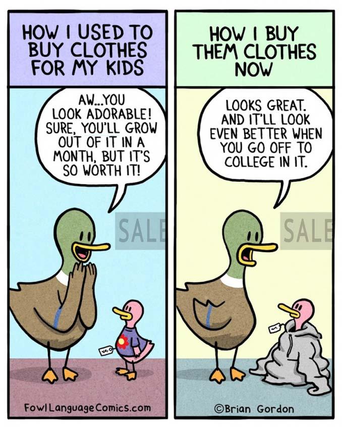Σκίτσα με αλήθειες που κάθε γονιός θα καταλάβει (10)