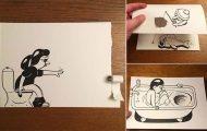 Σκιτσογράφος ζωντανεύει τα σκίτσα του χρησιμοποιώντας έξυπνα 3D τρικ (21)