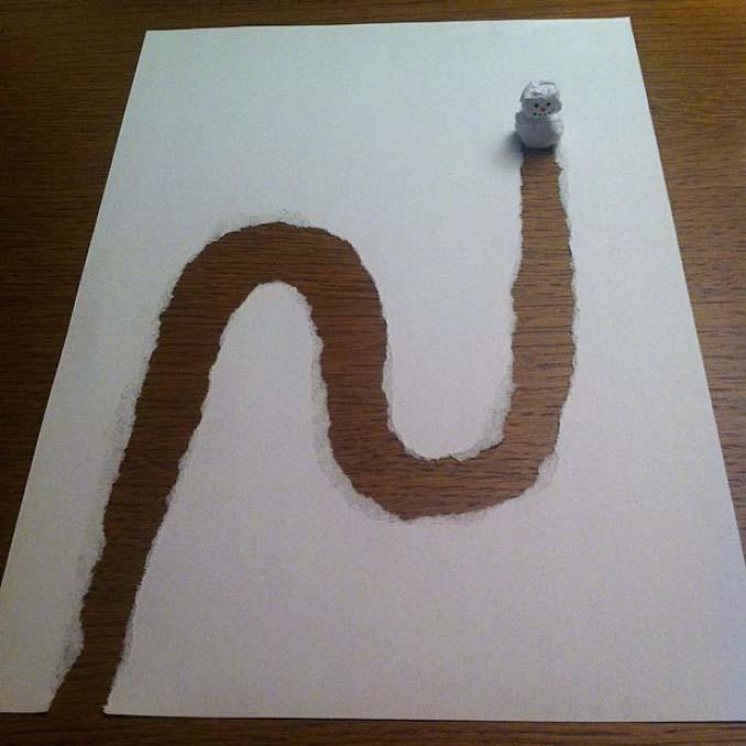 Σκιτσογράφος ζωντανεύει τα σκίτσα του χρησιμοποιώντας έξυπνα 3D τρικ (13)