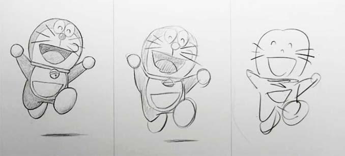 Speed Drawing: Κάνοντας την ίδια ζωγραφιά σε 10 λεπτά, σε 1 λεπτό και σε 10 δευτερόλεπτα (13)