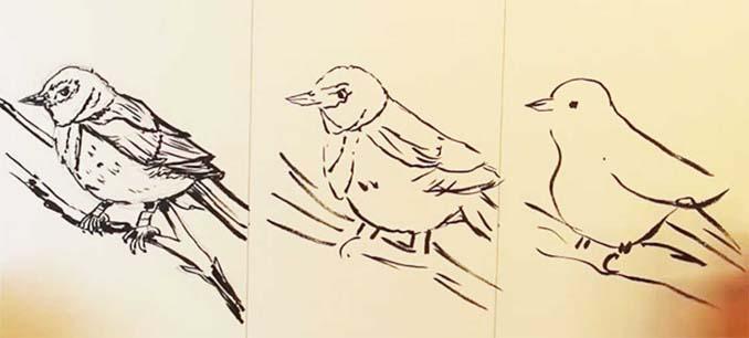 Speed Drawing: Κάνοντας την ίδια ζωγραφιά σε 10 λεπτά, σε 1 λεπτό και σε 10 δευτερόλεπτα (15)
