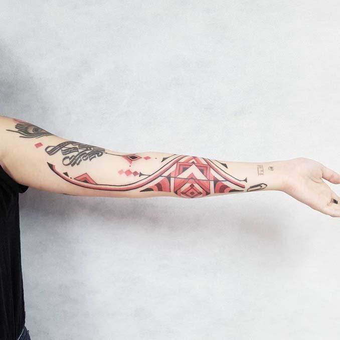 Τατουάζ εμπνευσμένα από την τέχνη των φυλών του Αμαζονίου (1)