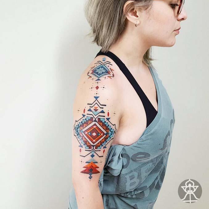 Τατουάζ εμπνευσμένα από την τέχνη των φυλών του Αμαζονίου (10)